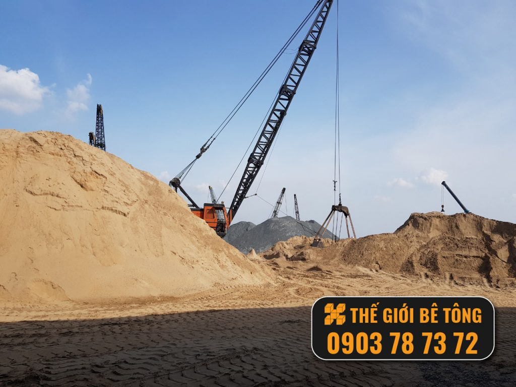 cung cấp cát san lấp khu vực miền Nam