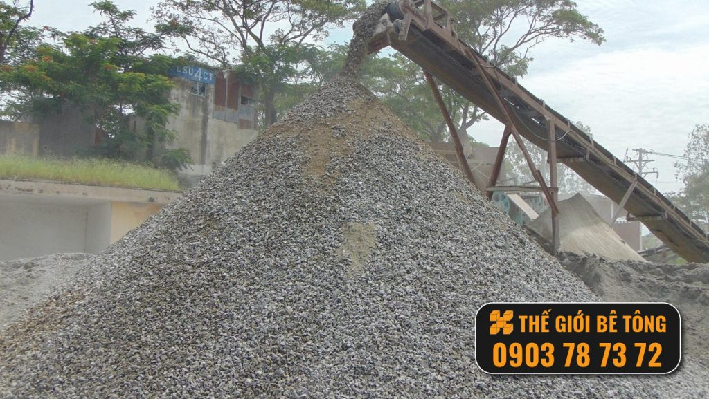 cung cấp đá dăm cấp phối