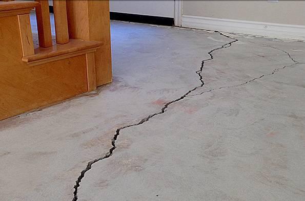 nguyên nhân gây nên vết nứt trên bề mặt bê tông